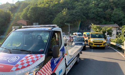 Statale 340: incidente sul Ponte del Passo, traffico in tilt
