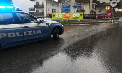 Maltempo: chiusa la Strada Provinciale 1, da Campodolcino a Isola