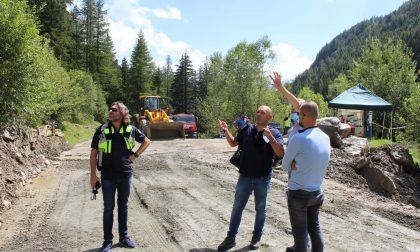 """Frana a Chiareggio: """"A monte ancora materiale pericoloso"""""""