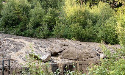 Frana di Chiareggio, dissequestrata l'area: i lavori possono partire
