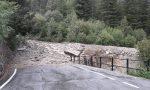 Frana di Chiareggio: saranno evacuate 15 famiglie, si lavora per riaprire la strada