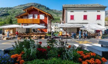 Proiezioni degli scorci più belli della Valchiavenna per accogliere i turisti