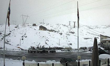 Nevicata d'agosto al Passo dello Stelvio – FOTO