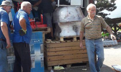 Un container per la missione di don Luciano