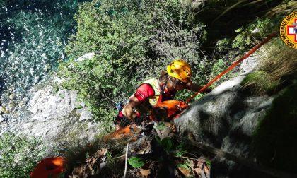 Infortunio in Val Bodengo, soccorsi in azione
