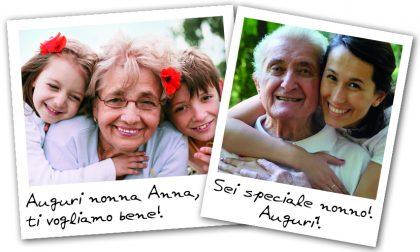 La Festa dei Nonni sta arrivando! Fai un augurio speciale con Centro Valle!