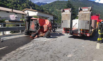 Ripristinata la circolazione dei treni dopo l'incidente ad Ardenno