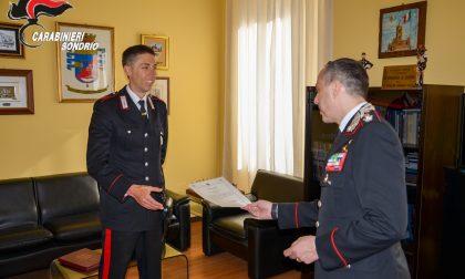 Consegna riconoscimenti al Comando Provinciale Carabinieri di Sondrio