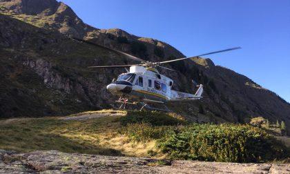In difficoltà sul monte Lavazza, due ragazze recuperate dai soccorsi