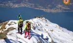 Esercitazione del Soccorso Alpino sul Monte Legnone