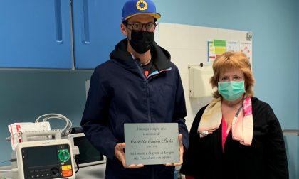 Doppia donazione al Ppi di Livigno e all'Ospedale di Sondalo