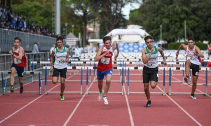 Daniele Lanzini medaglia di bronzo ai Campionati Italiani Cadetti nei 100 Ostacoli