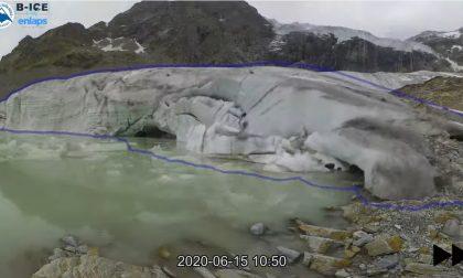 Il Ghiacciao Fellaria che scompare, impressionante time-lapse VIDEO