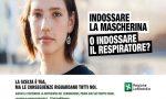 """Campagna anti Covid: """"Indossare la mascherina o indossare il respiratore"""""""