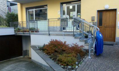 Abbattute le barriere architettoniche all'Ufficio Postale di Caiolo