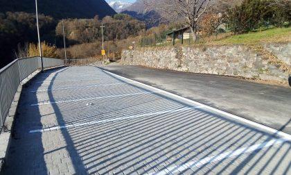 Sondrio: completati i nuovi parcheggi nelle frazioni