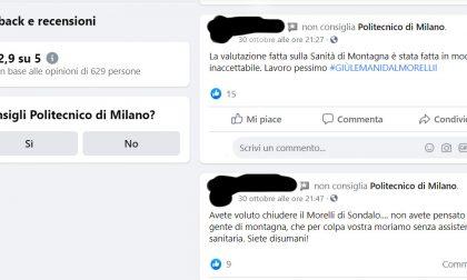 """Simona Pedrazzi e Politecnico di Milano colpiti dalla """"rappresaglia social"""" per l'Ospedale Morelli"""