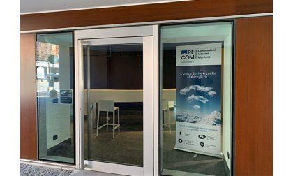 RF Com apre a Sondrio in via Tonale 2 il nuovo Centro Clienti