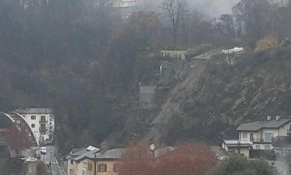 Smottamento in via Fracaiolo: due famiglie restano fuori casa