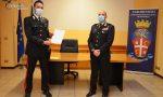 Sondrio: premiati i Carabinieri che si sono distinti in azione FOTO