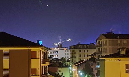 Il Baradello di Aprica visibile a km di distanza regala una luce di speranza
