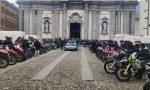 Il rombo delle moto per l'ultimo saluto a Sebastian VIDEO