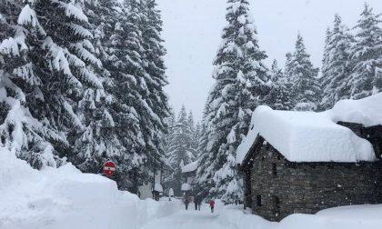 Previsioni meteo: continua a nevicare in Valtellina FOTO