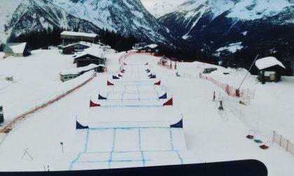 Snowboard Cross: tre giornate di sport internazionale in Valmalenco