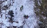 Dolore per Dino Fontana, morto in montagna. Le foto del recupero