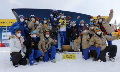 Snowboard Cross: Medaglia d'Oro per Michela Moioli in Valmalenco