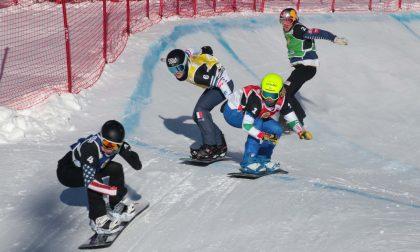 Snowboard cross: nessun podio per l'Italia in Valmalenco