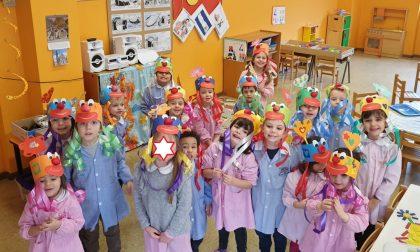 Un Carnevale allegro per i bambini del Giardino d'Infanzia