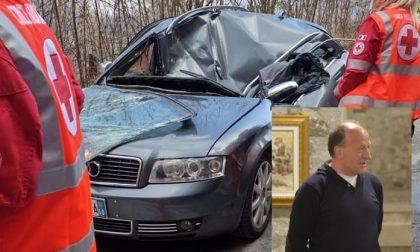 Morbegno: il pittore Roberto Bogialli muore colpito da un masso mentre era in auto