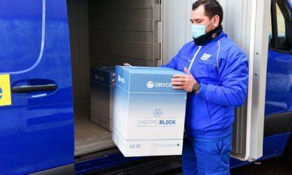 Nuova consegna dei vaccini Moderna a Sondrio