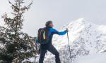 Sondalo, corso di sci alpinismo per ragazzi con Adriano Greco