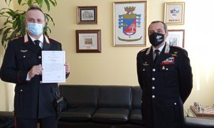Frana a Bema: premiato carabiniere eroe