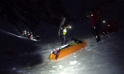 Scialpinisti infortunati, due interventi difficili per il Soccorso Alpino