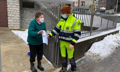 Val Masino: distribuiti saturimetri e kit sanitari ad anziani e studenti