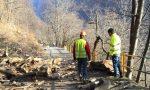 Il video delle operazioni di disgaggio a San Giacomo Filippo lungo la strada per Olmo