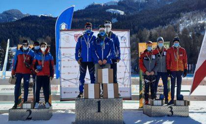 Vittoria per i valtellinesi ai Campionati Italiani - Biathlon di Tesero
