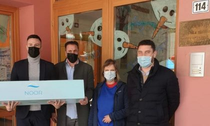 Con Steril Tube l'asilo aprichese sanifica gli ambienti in pochi minuti