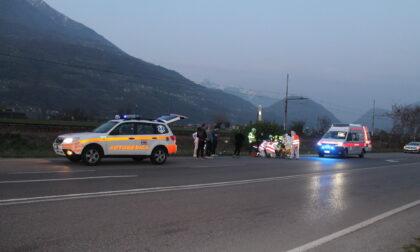 Grave incidente per un motociclista a Cosio Valtellino