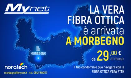 La vera fibra ottica di Mynet è arrivata anche a Morbegno