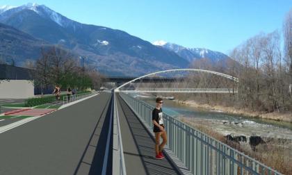 Sondrio: le foto del nuovo ponte sul Mallero