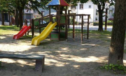 E' scattato l'adeguamento del parco giochi di Piazza Unità d'Italia