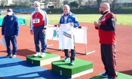 Giorgio Lerda campione italiano master di Giavellotto