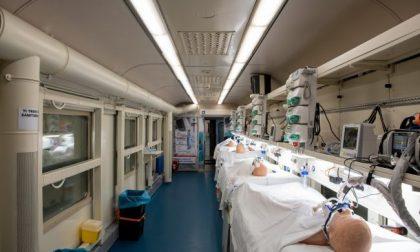 Lombardia: le foto del primo treno sanitario per l'emergenza covid