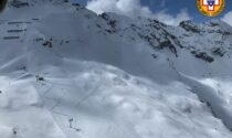 Valanga all'Aprica investe due scialpinisti