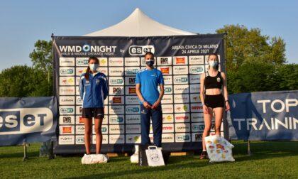 10a Walk & Middle Distance Night: a Milano super Cristina Molteni nei 1500 metri