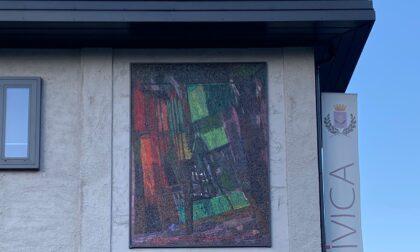 Sondrio: ricollocati i mosaici di Cassinari